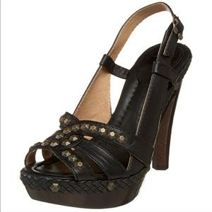 Frye Dara Sling Back Helled Sandals with Studs